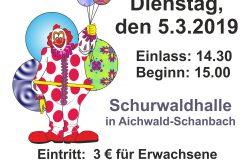 Kinderfasching Plakat 2019